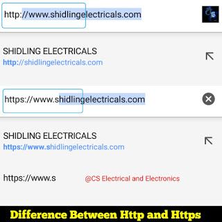 https and http difference