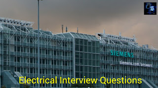 Electrical Interview Questions And Answers Which Are Asked In ABB, Siemens And L & T Companies