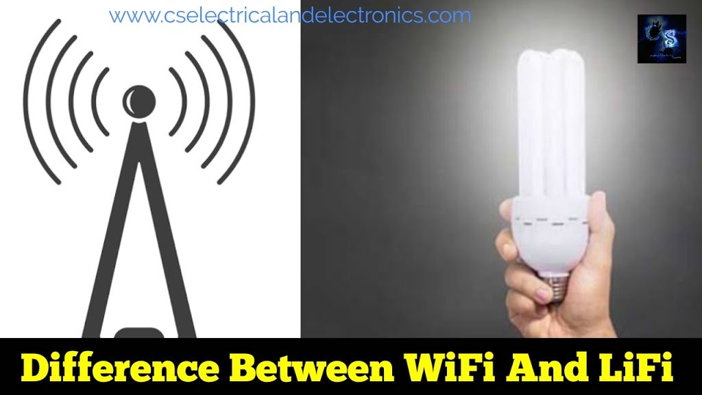 Difference Between LiFi And WiFi   Latest Technology Will Change WiFi