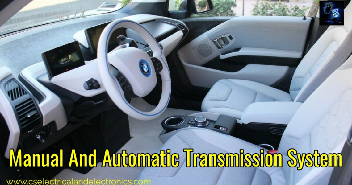 What Is The Transmission System In Automobile | Types | Difference Between Automatic And Manual Transmission System