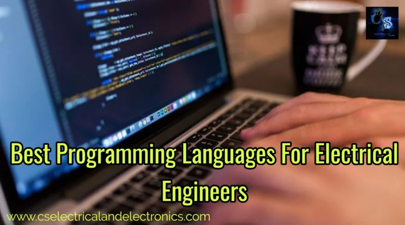 Best programming languages for electrical engineers