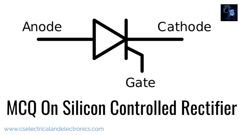 MCQ on silicon controlled rectifier