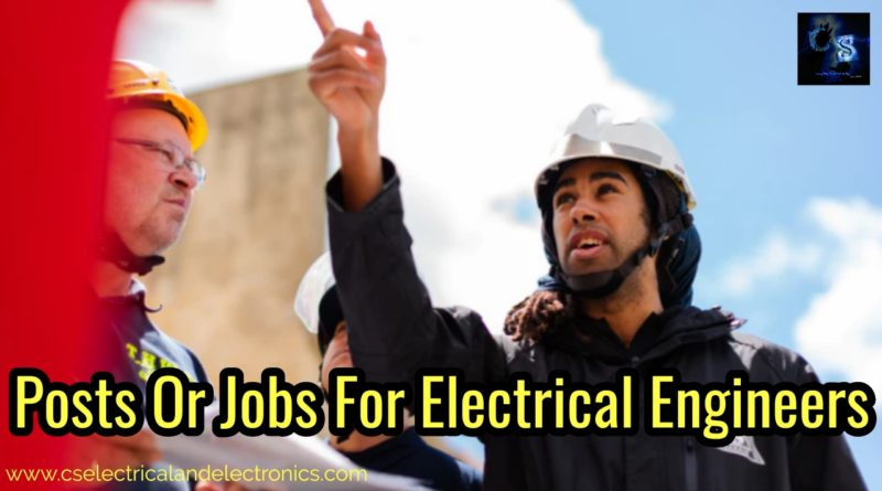 Jobs for electrical engineers