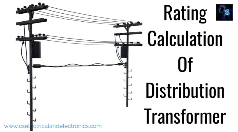 How To Calculate Rating Of Distribution Transformer