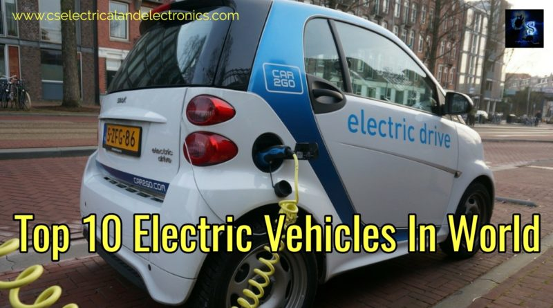 Electric vehicles in world