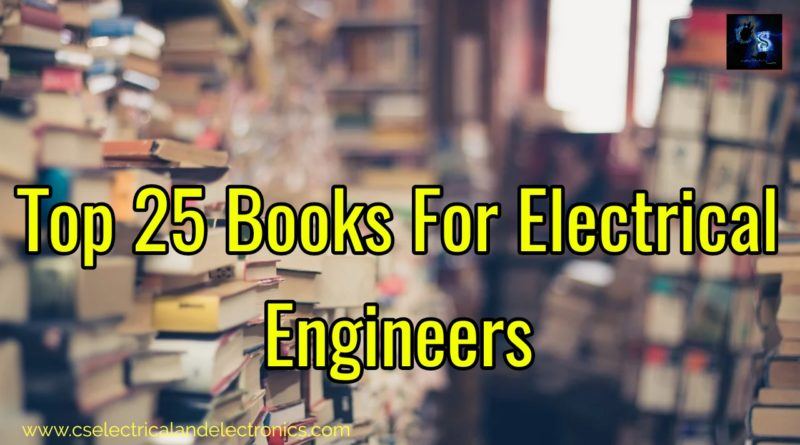 top 25 books for electrical engineers