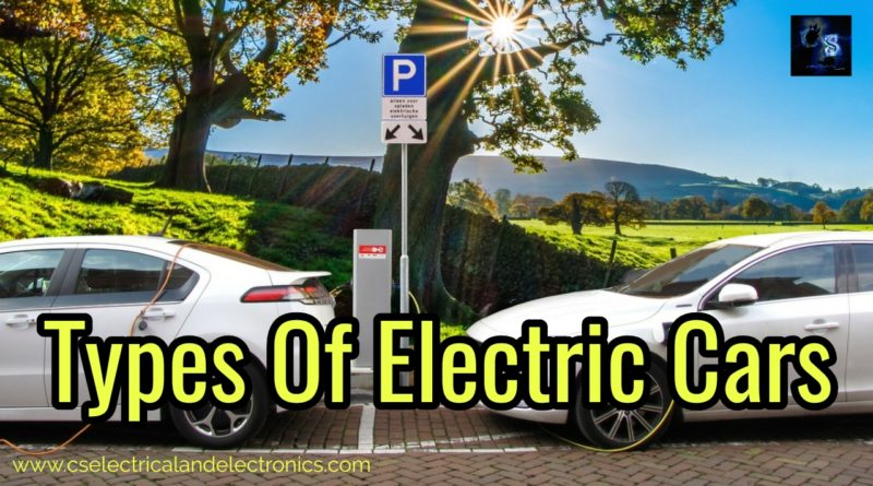 Types Of Electric Cars