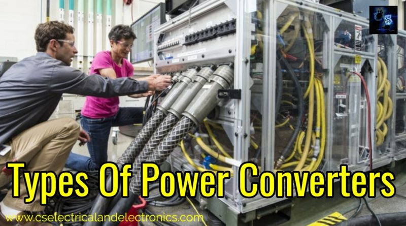 Types Of Power Converters