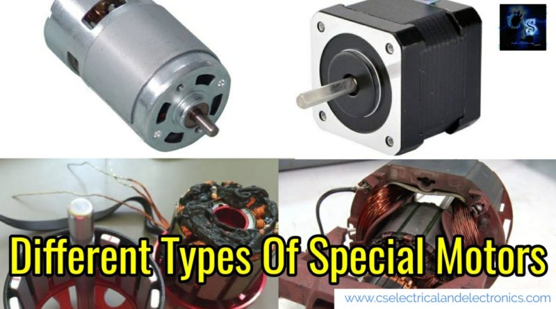Different Types Of Stepper Motor