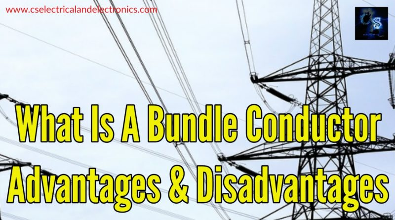 What is a bundle conductor