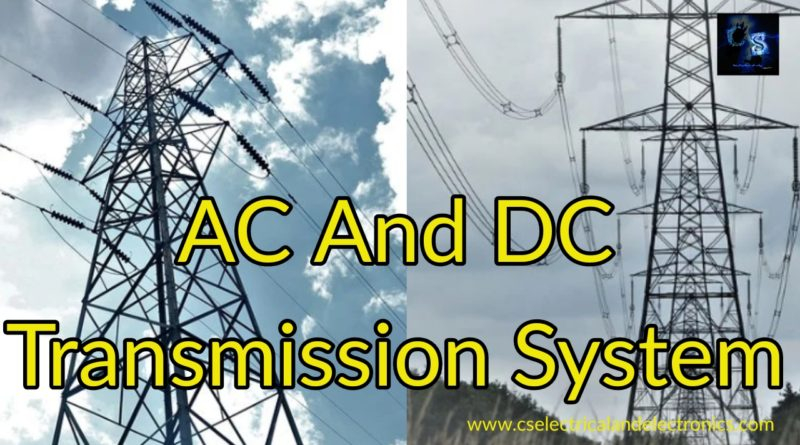 ac and dc transmission system