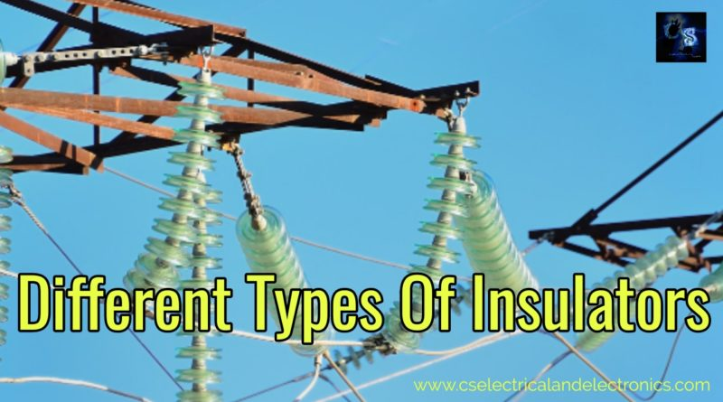 Different types of insulators