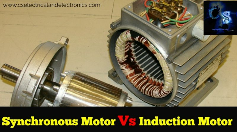 Synchronous and induction motor