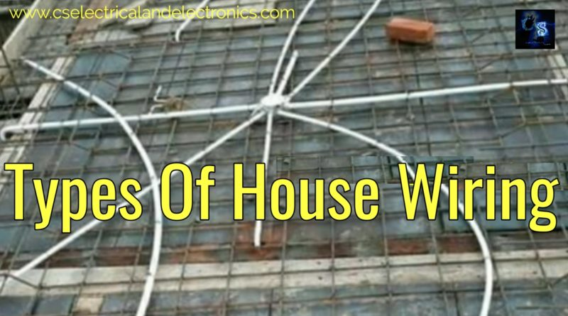 Types of house wiring