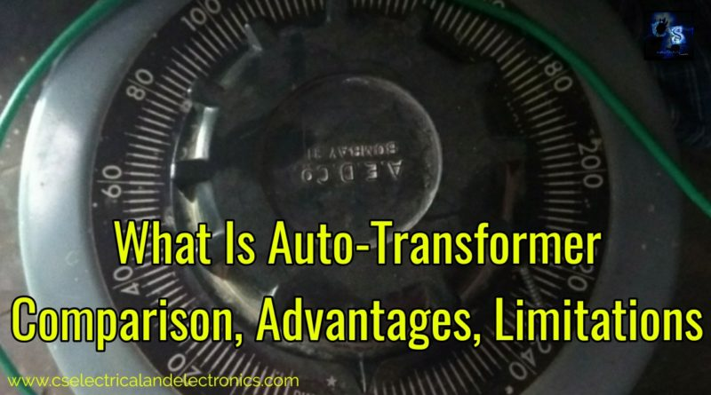 What is Auto-transformer
