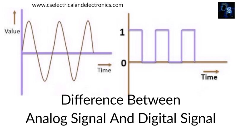 analog signal and digital signal