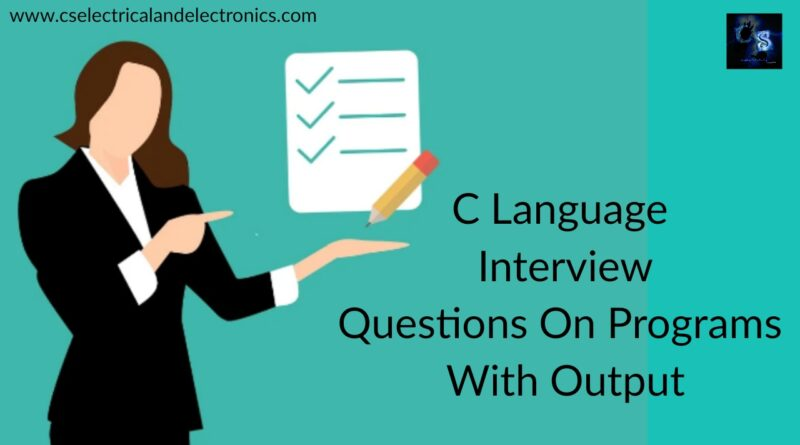 c-language-Interview-questions