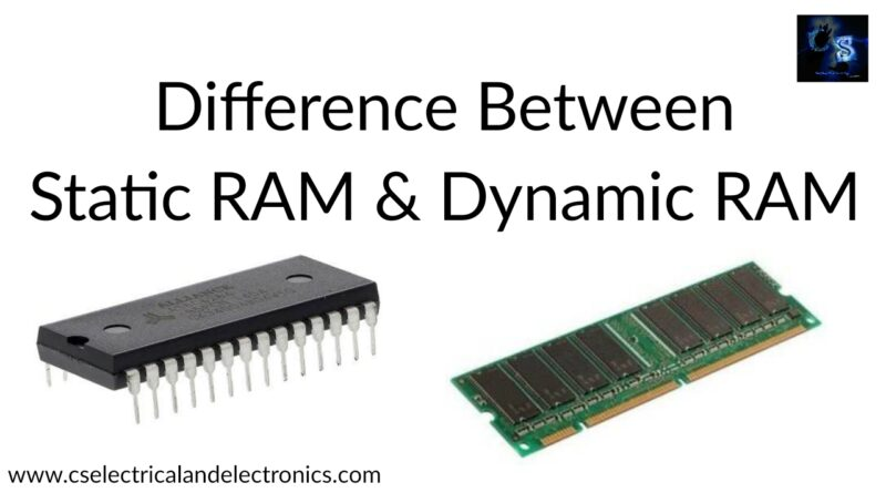 static ram and dynamic ram