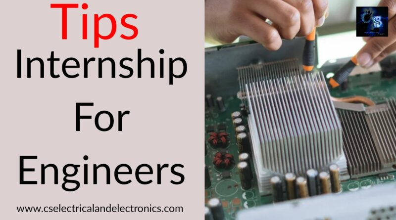 internship for engineers